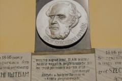 Beregszász, Széchenyi emléktábla