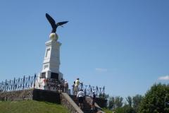 Tiszaújlak, Turul emlékmű